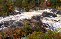 Stair Falls in Autumn 1